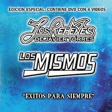 Exitos Para Siempre Los Rehenes Los Mismos CD & DVD Brand New Ships Fast Last 1