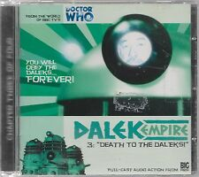 DALEK EMPIRE 3: DEATH TO THE DALEKS! - Big Finish Full-Cast Audio Drama (CD 2001