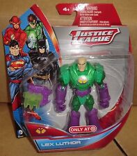 JUSTICE LEAGUE TARGET EXCLUSIVE 5 FIG SUPERMAN BATMAN FLASH GREEN LANTERN LUTHOR