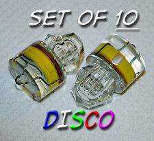 Set 10 Diamond LED DISCO lights, deep drop swordfish fishing Squid USA free ship