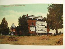 Vintage Postcard: Protestant Hospital, Sherbrooke, Quebec c. 1908 unposted