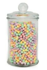BULK LOT: 6 x LARGE 750ml APOTHACARY JARS : WEDDING LOLLY CANDY SCOOP  BAG BAR