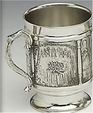 St Brigid's Cross Irish Celtic 12oz Tankard - by Mullingar Pewter in Ireland