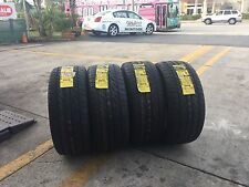 NEW SET OF FOUR (4) 245/45/17 95V DUNLOP SP SPORT 5000M HIGH PERFORMANCE TIRES