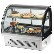 "Vollrath 60"" Refrigerated Display Cabinet Curved Glass Front - 40844"