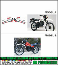 kit adesivi stickers compatibili xt 400 1982