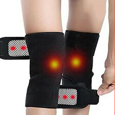 Sport Self Heating Knee Pad Therapy Support Heating Belt Knee Massager 1Pair