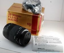NEW SIGMA 28-300 MM F 3.5-6.3 SLD GLASS IF MACRO LENS FOR SIGMA SA MOUNT NIB