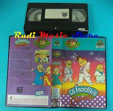 VHS film GLI INCREDIBILI CHIPMUNKS 1990 ANIMAZIONE Line film  (F89) no dvd