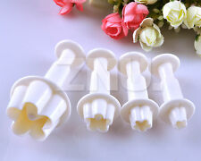 Plum blossom Fondant Plunger Cutter Flower Craft Clays GIFT Decoration Tool