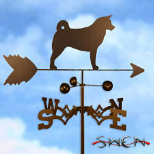 Hand Made Akita Dog Weathervane *NEW*