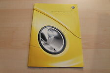 82836) VW New Beetle en voque Prospekt 07/2001