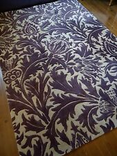 "William Morris WOOL RUG Contemporary chic ""THISTLE"" thick PILE CARPET JOHN LEWIS"