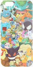 POKEMON ALL-OVER CHARACTERS PHONE CASE ~FOR IPHONE 6/6S~ FREE SHIPPING