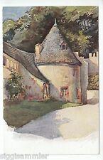 Schloss Rochsburg AK um 1920 Aquarell Hartwig Wachttürmchen Sachsen 1602458