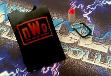 WWE Figure Mattel Elite Exclusive Kevin Nash Red NWO Shirt Spray Can And Glasses