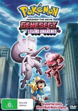 Pokemon The Movie - Genesect And The Legend Awakened (DVD, 2013)-REGION 4