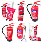 NEW DRY POWDER ABC & FOAM FIRE EXTINGUISHERS HOME OFFICE CAR 1KG 2KG ETC SAFETY