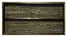 Eine Schalungsforme / Gips und Beton Gießformen für Palisade / Gehweg Holz Brett