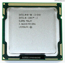 Intel Core i3 Processor i3-540 3.06GHz 4MB LGA1156 CPU