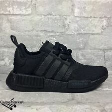 Adidas NMD Nomad R1 Triple Black Blackout Boost S31508 Size 4.5