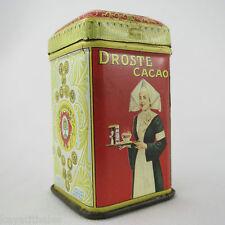 MINIATURE Boite CHOCOLAT DROSTE banania/Ancien Echantillon publicitaire H.4,6cm!