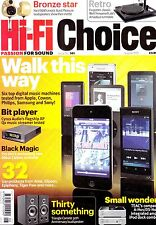 HI-Fi Choice magazine with Pro-ject Debut Carbon Well Tempered Amadeus  Aug 2012
