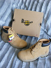 New Mens Womens Dr Martens Workman AW501 14141230 Honey Safety Boots UK 9 EU 43