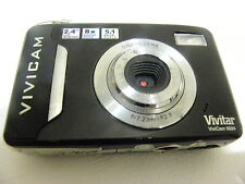 Vivitar BLACK vivicam 5024 Digital Camera 8 mega pixel 8X optic zoom