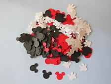 Over 300 Confetti,Mickey Mouse Heads & gloves, birthday party decorations,