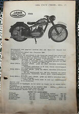 JAWA 250-tech. documents-montage instructions (x2273)