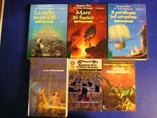 Lotto libri MARGARET WEIS TRACY HICKMAN Dragolance Death Gate Darksword fantasy