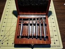 PRATT & WHITNEY Morse Taper Jig Borer End Mill Set