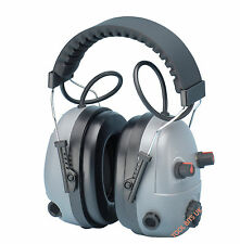 ELVEX COM-640 INTELLIGENT EAR MUFFS DEFENDERS PROTECTION with HIGH / LOW FILTERS