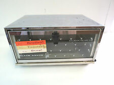 Vintage BLACK ANGUS Petite Electric Toaster Oven Toast 'n Broil Toaster Oven /M2