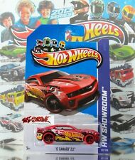 Hot Wheels 2013 #192 '12 Camaro™ ZL1™ BRIGHT RED,VARIANT-RED TIRES,NO LOGO,US