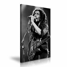 BOB MARLEY Music Canvas Framed Print 20X30 INCH / 50x76CM