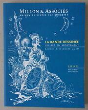 BANDES DESSINÉES * CATALOGUE VENTE AUX ENCHÈRES MILLON 4 DÉC. 2010 * NEUF