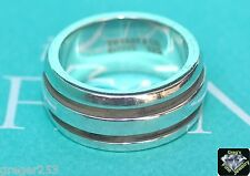 Tiffany & Co. Atlas Groove Sterling Silver Ring Size 6