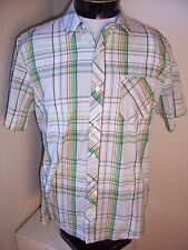 VOLCOM brand mens Large L Button-up shirt