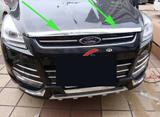 Chrome Front Grille Around Trim for 2013-2015 FORD Escape kuga Molding New