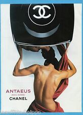 AIRONE985-PUBBLICITA'/ADVERTISING-1985- CHANEL - ANTAEUS POUR HOMME