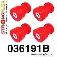 PU Buchsen Satz Hinterachsträger- Tonnenlager BMW E39 5er Touring 80ShA rot