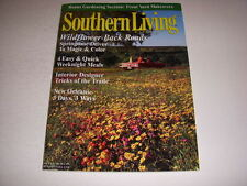 SOUTHERN LIVING Magazine, March, 1999, WILDFLOWER BACK ROADS, INTERIOR DESIGNERS