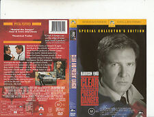 Clear And Present Danger-1994-Harrison Ford-Movie-DVD
