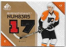 07/08 SP Game Used Significant Numbers Jersey Jeff Carter /17 SN-JE Flyers