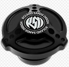 RSD Tracker Gas Cap Right Vented Black Ops Harley FLHRC 07_14 0210-2007-SMB