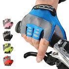RockBros Bike Bicycle Half Finger Gloves Gel Pad Cycling Short Finger Gloves