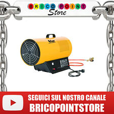 GENERATORE ARIA CALDA VIGOR 53M KW-IT HEAVY DUTY CON REGOLATORE E TUBO GAS