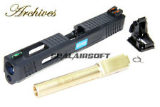Archives WEI-E CNC Aluminum Custom Toy Slide For WE Marui G17 GBB Gold Barrel